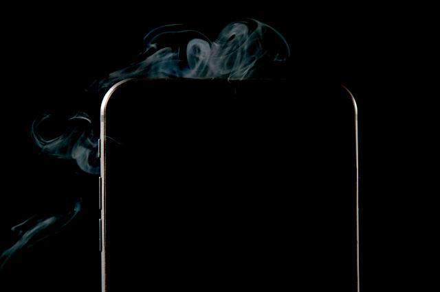 iPhoneが熱い!原因と対策